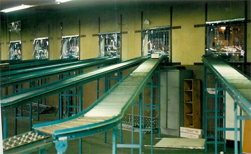 Plastic Strip Curtains For Conveyor Belts All Sizes