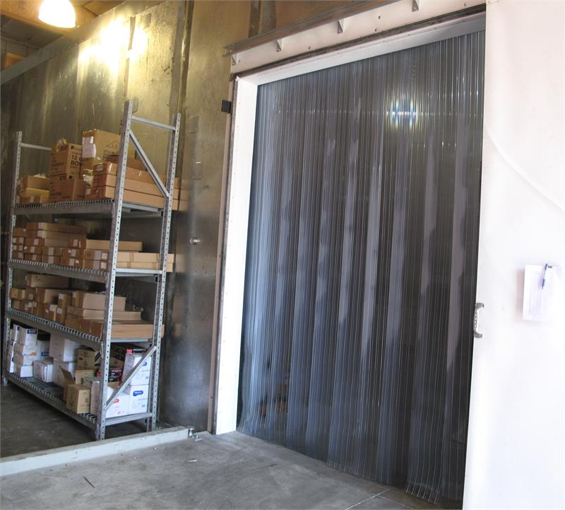 Walk In Freezer For Sale >> Plastic Strip Curtains For Freezers - PVC Strip Door Rolls ...