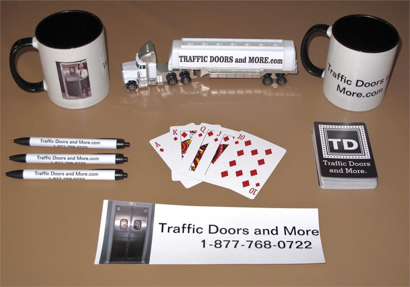 Traffic Doors and More selling Ruff Tuff Doors and Pro Tuff Doors.