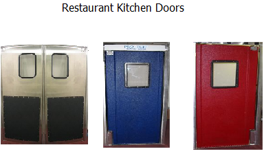 Restaurant Kitchen Swing Doors restaurant kitchen doors in stock, restaurant doors in stock in