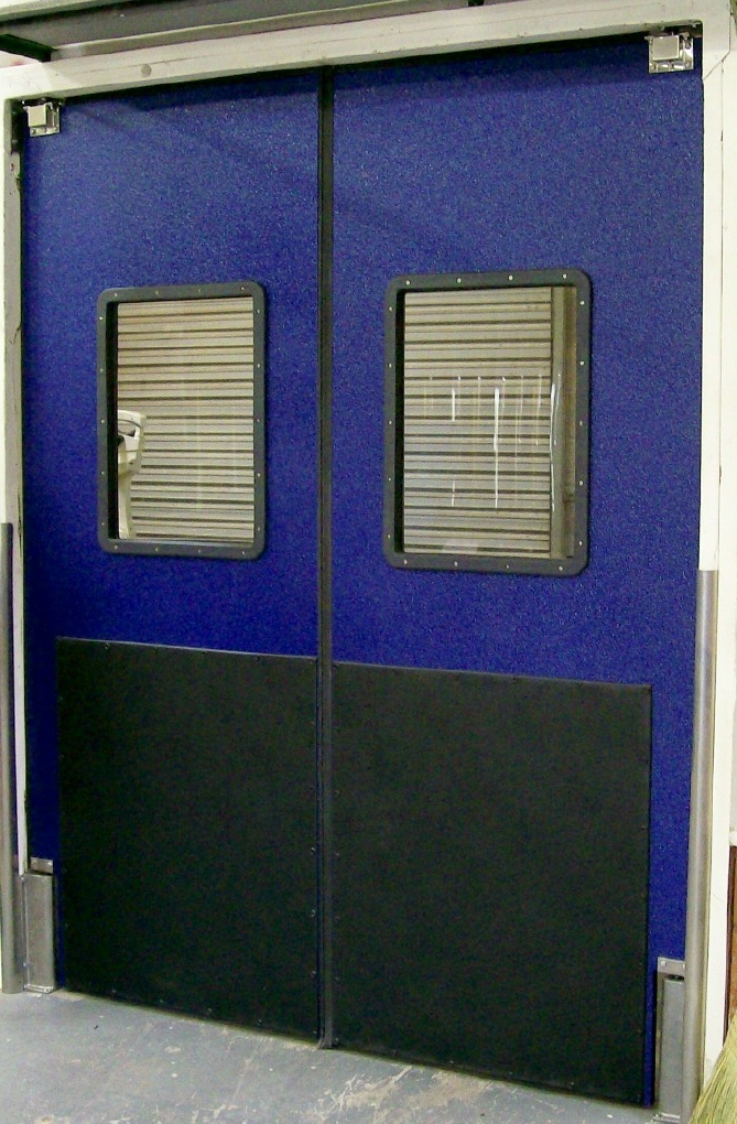 Doors For Supermarkets Traffic Swing Door Impact
