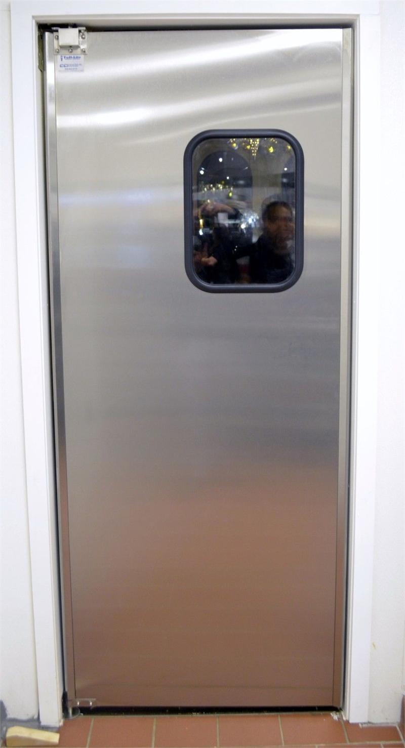 Restaurant Doors Stainless Steel Double Door Restaurant
