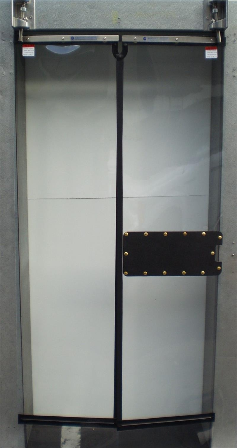 Clear Vu Panel With Available Latch Patch. & Clear Vu Door Panels For Sale - Replacement Panels For Clear Vu ... Pezcame.Com