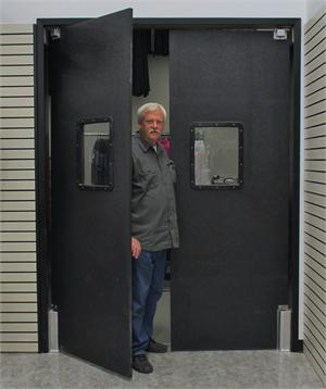 Swinging Doors For Grocery Store Door Ruff Tuff Doors