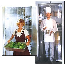 Plastic Strip Curtains For Walk In Coolers And Freezers