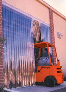 Pvc Strip Curtains And Plastic Pvc Strip Doors For Coolers