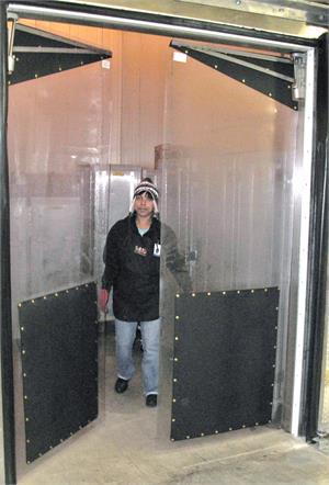 Clear Plastic Swinging Doors Pvc Clear Swinging Pvc