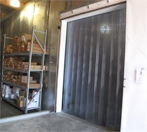 Plastic strip curtains for freezers, PVC Strip Doors For Freezers On Sale!