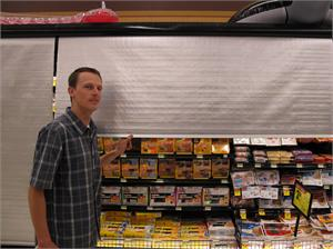 Roll Down Night Covers For Refrigerated Grocery Deli Cases
