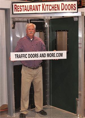 Restaurant impact door display | Traffic Door Manufacturer in Costa Mesa, CA