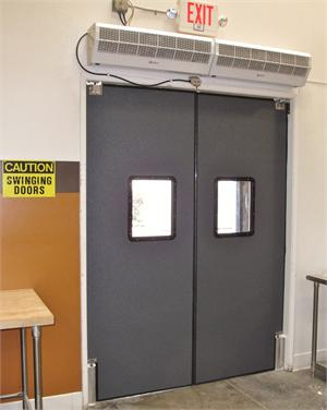 Restaurant Kitchen Swing Doors commercial impact traffic doors for restaurant door and