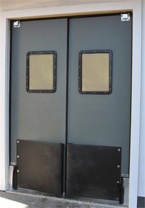 Ruff Tuff Door with tear drop bumpers, Doors for supermarkets On Sale.