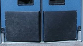 Tear drop bumpers for traffic doors. Impact Door Tear Drop Bumpers On Sale.