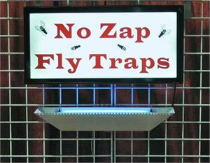 No Zap fly trap for restaurants On Sale.