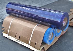 Wide PVC Strip Curtain Rolls In Stock. 60