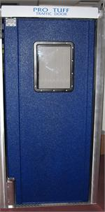 "Pro Tuff People Traffic Doors: 36""x84"" $595.00"
