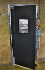 Pro tuff series door for restaurant traffic door.