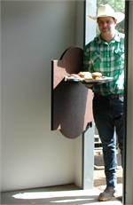 Oval Top Saloon Doors. Ruff Tuff Series.