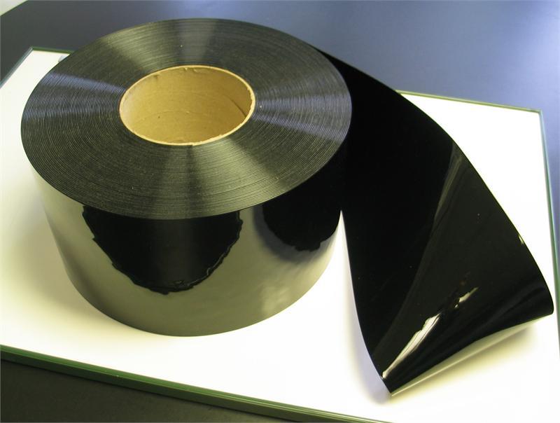 Black Pvc Vinyl Strip Curtain Rolls Black Plastic Strip