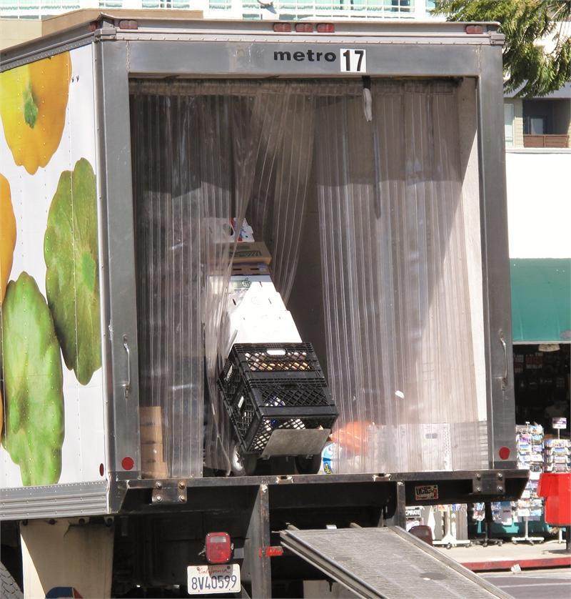 Plastic Strip Curtains For Truck Doors