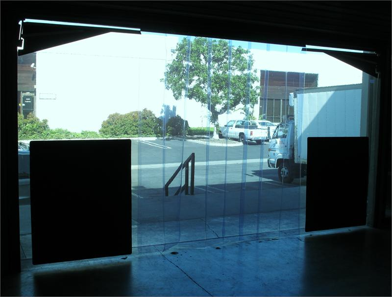 Clear Plastic Swinging Doors Pvc Strip Curtains For Dock