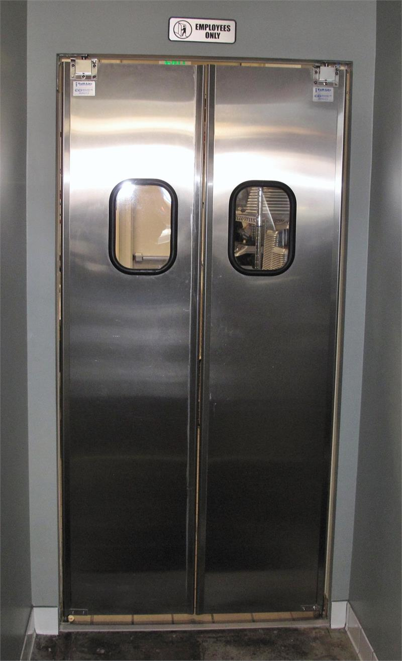 Stainless Steel Restaurant Doors Are In Stock.