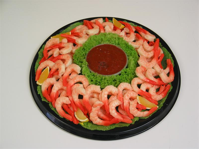 Plastic Shrimp Tray for Supermarket Seafood Display On ...
