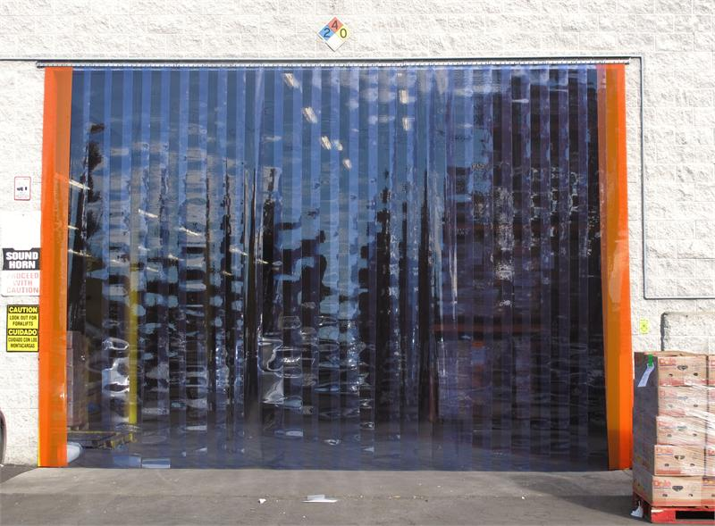 Strip Curtains For Dock Doors Orange Pvc Strip Curtain