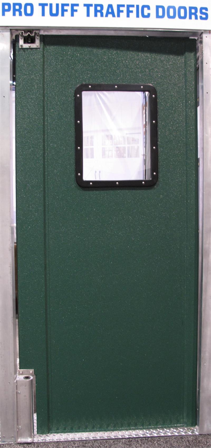 Green Pro Tuff Door.