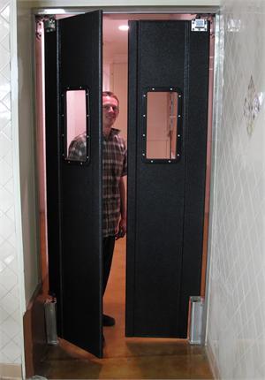 Double Doors Starting At 36\  Wide. & Restaurant Kitchen Doors - Double Panel Swing Doors for Narrow Door ...