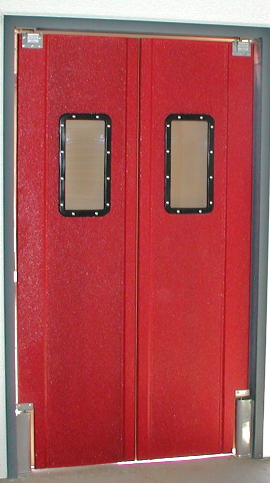 Red Pro Tuff Series Double Door.