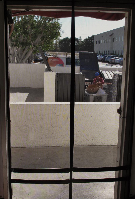 Walk Thru Hanging Screen Doors For Restaurant Back Doors Hanging