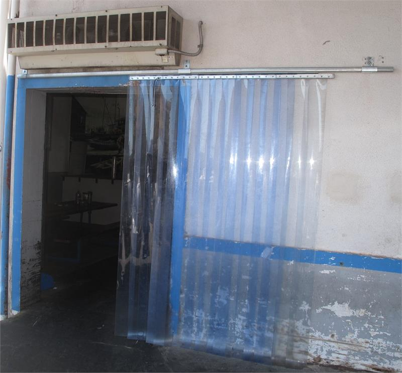 Slide Open Plastic Curtain Strips Roll Open Strip