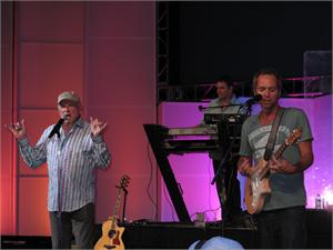 The Beach Boys concert at the asfsa school show in Denver.