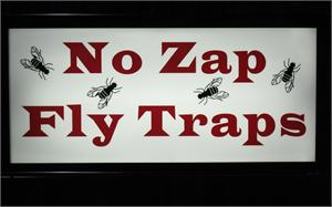 No Zap Fly Traps On Sale.