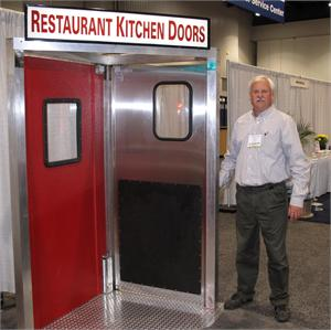Restaurant Kitchen doors In Stock, stainless steel swing doors for restaurants in stock. Traffic Doors and More For double swing doors for restaurants.