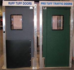 Ruff Tuff Door and Pro Tuff Door On Display.