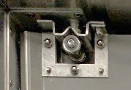 Tuff Lite stainless steel door hinge. Stainless swinging Tuff Lite Door Parts.