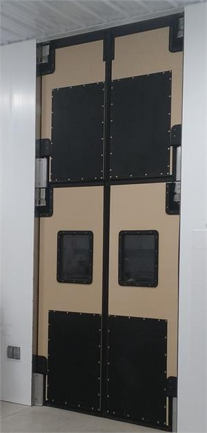 Tall Opening Traffic Doors. Swinging Impact Doors For High  and Tall Door Openings.