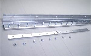 strip curtain mounting bar stainless steel bars On Sale.