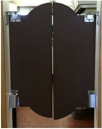 Cafe swing door for restaurant kitchens, swinging cafe doors for grocery store half size door.