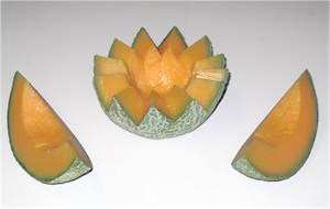 Replica Cantaloupe For Fake Food Display.