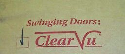 Clear Vu Door Replacement Panels Various Sizes To Choose From.