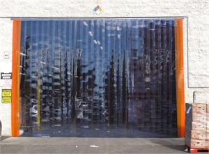 Plastic strip curtains on dock doors, PVC Strip Doors On Sale!