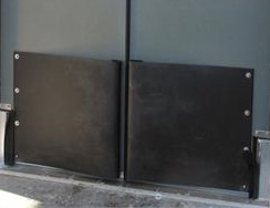 Impact door bumpers traffic door tear drop bumpers On Sale.