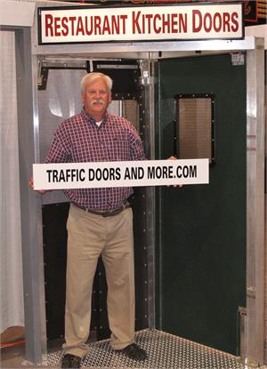 Restaurant kitchen doors, Traffic doors for restaurants On Sale!
