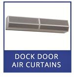 Mars Air Curtains for dock doors. Mars Air Curtain Door Fans For Supermarket Doors.
