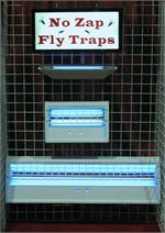 Commercial Fly Traps Large No Zap Fly Trap Model NZ5000. Large indoor fly trap for indoor fly control.