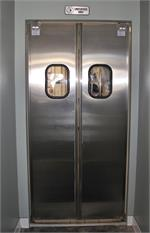 Restaurant Doors Stainless steel double door for restaurant kitchen door stainless steel door On Sale.