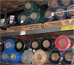 "Wide PVC Rolls In Various Colors- 48"" wide plastic rolls in stock at Traffic Doors and More."